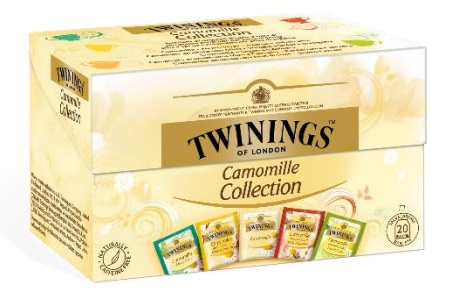 Camomille collection Twinings 20 ff