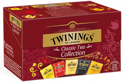 Classic Collection Twinings 20 filtri