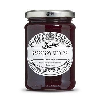 Confettura Raspberry seedless Wilkin & Sons 340 g