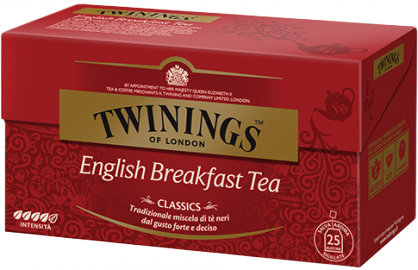 English Breakfast Twinings 25 filtri