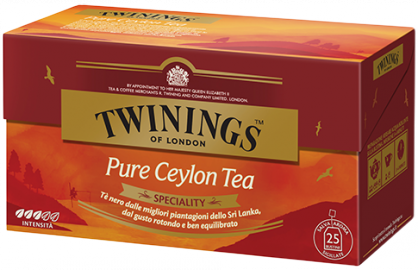 Pure Ceylon tea Twinings 25 filtri