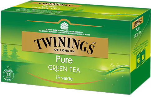 Tè verde Pure Green tea Twinings 25 filtri